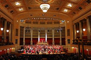 Gebetsfahnen, 1. Symphonie von Vijay Upadhyaya - Konzerthaus Wien - Chor und Orchester der Universitaet Wien unter der Leitung von Vijay Upadhyaya; Monika Medek, Sopran Foto@Michael Weilguny