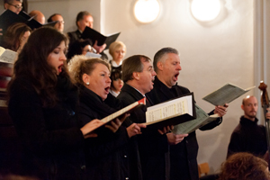 Kroenungsmesse, Monika Medek, Sopran; Martina Steffl, Alt; Franz Leitner, Tenor; Martin Vacha, Bass Foto: Tino Ranftl