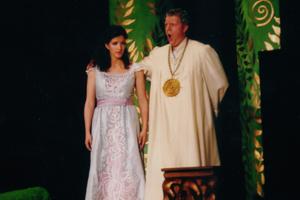 W.A. Mozart - DIE ZAUBERFLOETE - Monika Medek, Pamina und Bernhard Chr. Berger, Sarastro