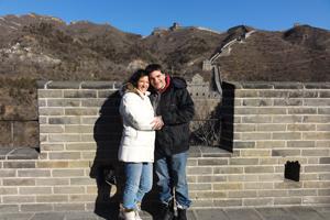 Auf der Mauer in China, Beijing