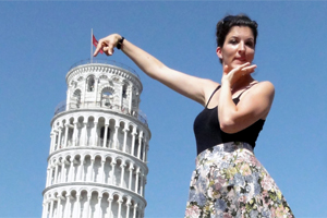 Pisa noch nicht gerade gerueckt